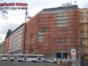 Budoucí obchodní centrum Letmo