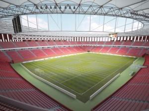 Vizualizace návrhu nového stadionu Za Lužánkami
