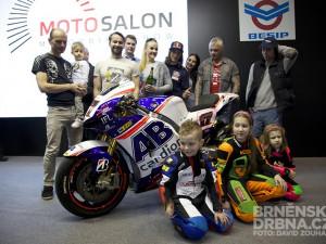 Křest motorky Karla Abrahama pro MotoGP, foto: Brněnská Drbna, David Zouhar