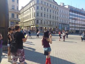 Náměstí Svobody zaplavily bubliny, foto: Brněnská Drbna, David Zouhar