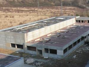 Nedostavěná továrna Ergon na Vinohradech, foto: Video YouTube