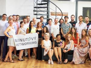 Foto z podnikatelské akce Minutový networking