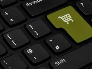 Nákup přes internet, ilustrační foto