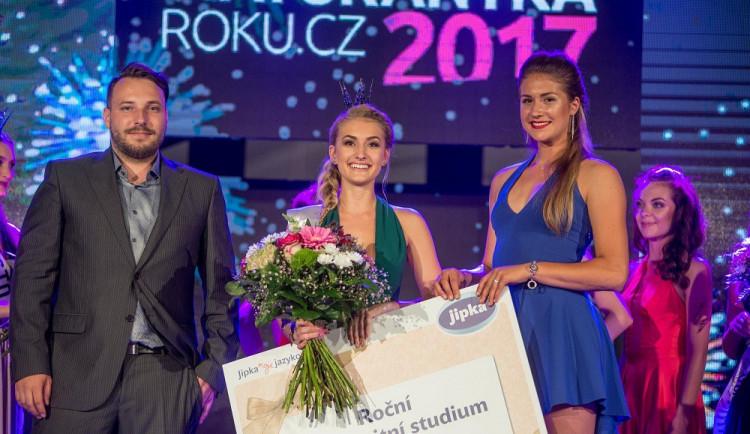 Soutěž krásy Maturantka Roku ovládla sympatická Brňačka Lucie Šlezingrová