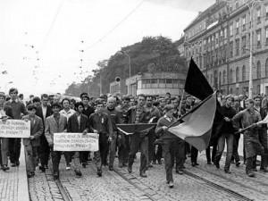 Události roku 1968 v Brně, zdroj: ústav pro studium totalitních režimů
