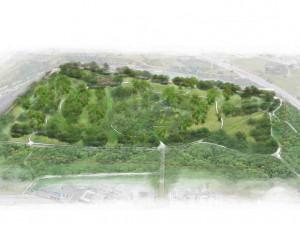 Vizualizace Hapalova parku
