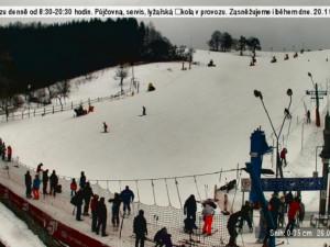 Podmínky ve Ski areálu Stupava
