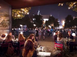 Vizualizace nové podoby Moravského náměstí