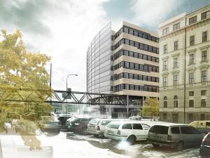 Vizualizace nové budovy magistrátu