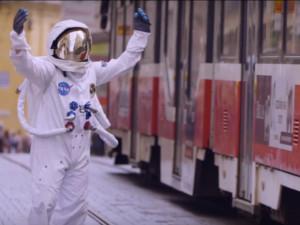 Kosmonaut v centru Brna