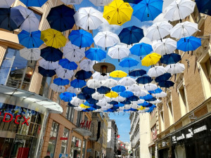 Deštníky na České