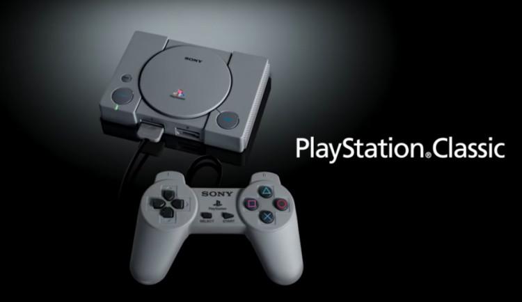 Sony chystá miniaturní verzi konzole PlayStation z roku 1994
