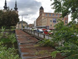 Most přes Svitavu v Zábrdovicích