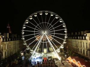 Podobné vyhlídkové kolo bude stát i  na Moravském náměstí