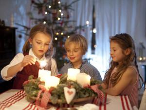 Dětská radost z Vánoc je k nezaplacení