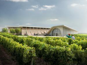 Nové centrum Vinařství Lahofer