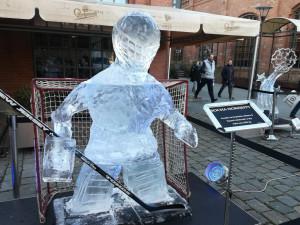 Výstava ledových soch u Vaňkovky