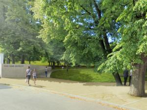 Vizualizace revitalizace parku Marie Restituty
