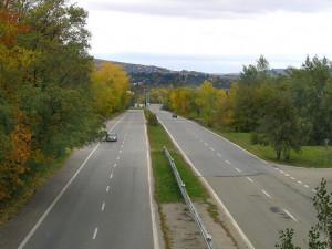 Stará dálnice v Brně