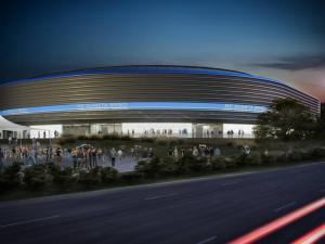 Vizualizace nové hokejové haly
