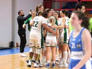 Brněnské basketbalistky porazily Trutnov a slaví postup