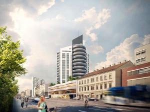 Výškovou budovy chce investor postavit u Lidické