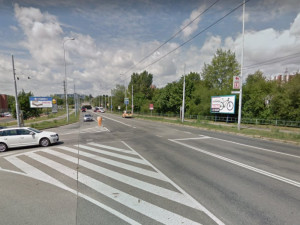 Křižovatka ulice Trnkova a Novolíšeňská