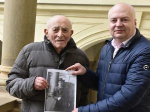 Bernard Papánek (vlevo) s náměstkem primátorky Oliverem Pospíšilem