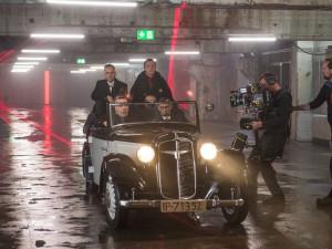 Rammstein při natáčení videoklipu
