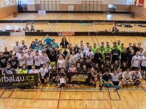 Účastníci benefičního turnaje