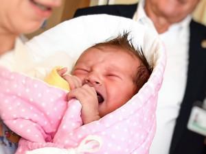 Terezka, první brněnské miminko roku 2019