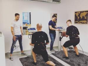 Cvičení EMS ve Wanderfitu