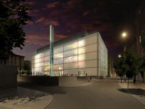 Janáčkovo kulturní centrum podle návrhu ateliéru M1