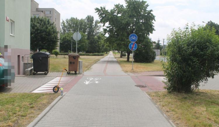 Ve Veselí nad Moravou cyklista srazil ženu, která venčila psa. Z místa nehody ujel