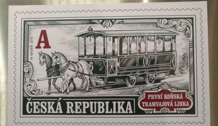 Nejstarší MHD v Česku slaví 150 let. Česká pošta vydala k výročí městské dopravy v Brně speciální známku