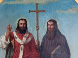 Slovanští věrozvěsti Cyril a Metoděj