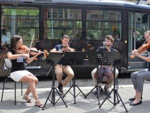 Křest filharmonické tramvaje