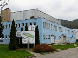 Budova městských lázní v Blansku