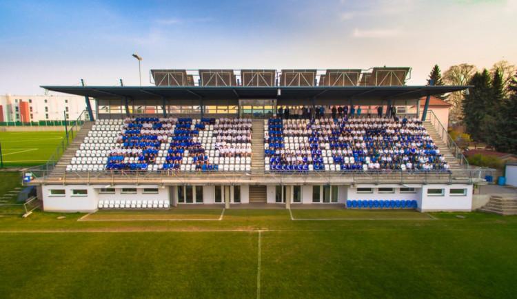 Nováček z Líšně vybojoval svůj první bod v druhé nejvyšší fotbalové lize. Pokořil i návštěvnický rekord