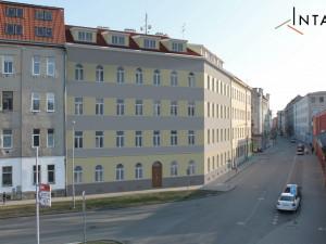 Vizualizace rekonstrukce bytového domu na Podnásepní 2