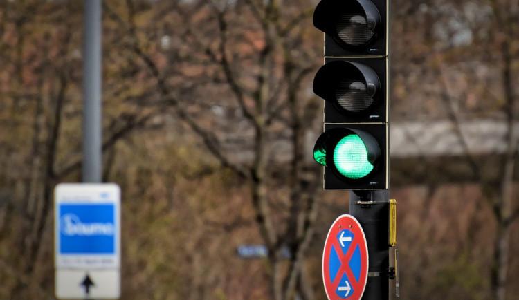 Břeclav je prvním městem v Česku, kde se bude testovat blikající zelená ne semaforech