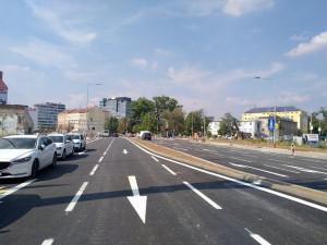 Ulice Dornych bude v provozu od už od soboty