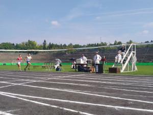 Stadion Za Lužánkami při natáčení snímku Zátopek