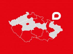 Působnost Drbny v krajích České republiky