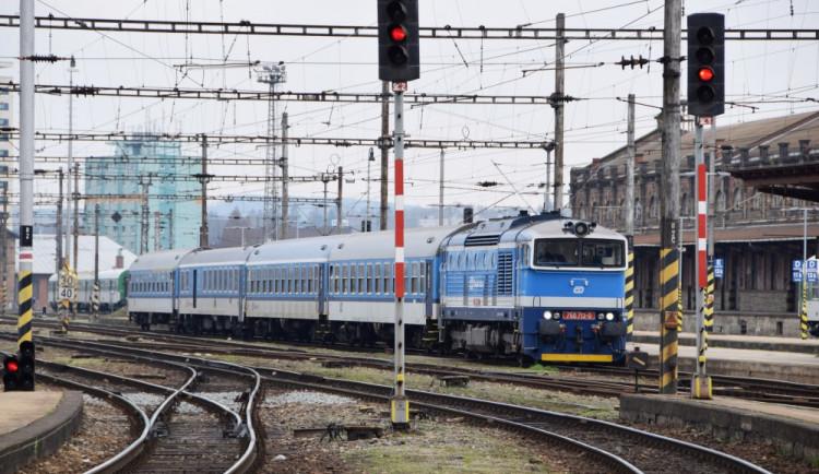 Na jižní Moravě začnou příští týden tři železniční výluky
