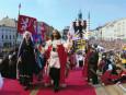Znojemské historické vinobraní navštívilo za tři dny 85.000 lidí