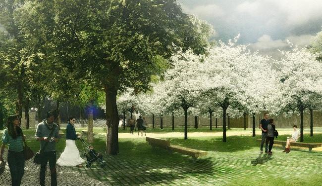 Královo Pole chce za 40 milionů obnovit Božetěchův sad. Bude z něj místo pro kulturní akce