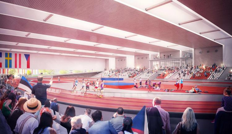 Brno začne v Bohunicích příští rok stavět novou atletickou halu