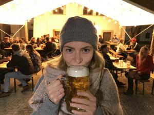 I Eliška objevila na krátkou chvíli krásu piva. A o tom je Oktoberfest.