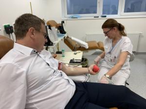 Fakultní nemocnice u svaté Anny zprovoznila nové místo pro odběr krve